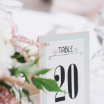 Shad & Whitney Table Numbers