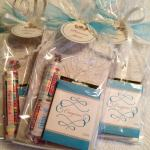 Gift Bag with Crayons and Smarties